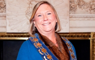 WCoBM's new and first female Master Gill Moore