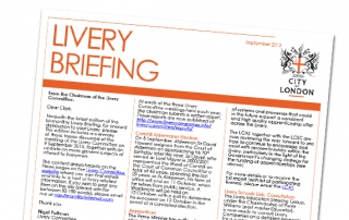 Livery Briefing September 2015