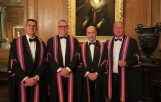 New Liverymen installed in October