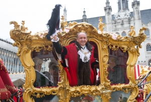 Election of Lord Mayor @ Guildhall, London