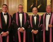 1. New Liverymen installed in October