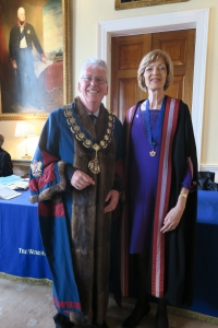 3. Fiona as Honorary Liveryman1