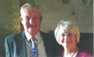 7. Peter Stephens with his wife Alyce