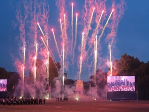 The Household Division Beating Retreat - back by popular deamand! @ Horse Guards Parade
