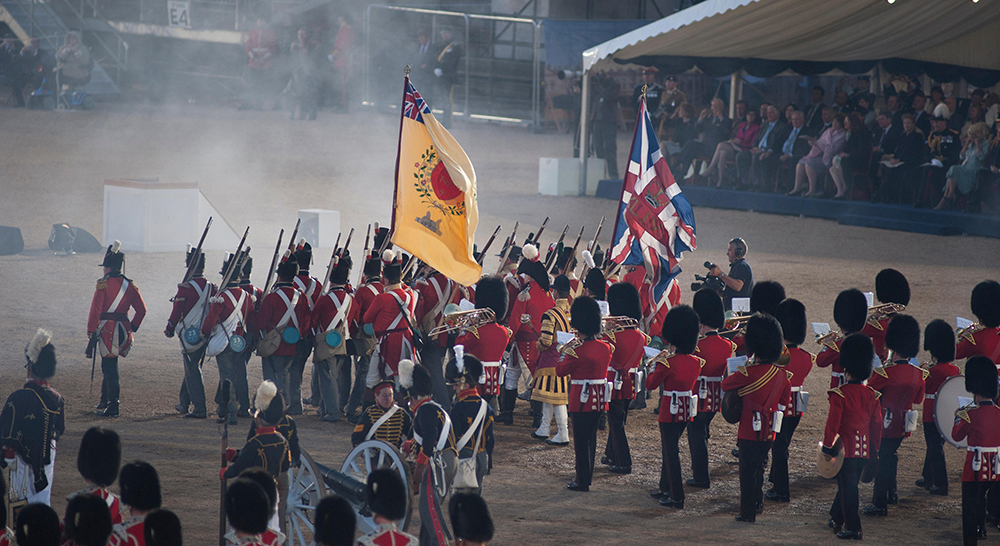 The Household Division Beating Retreat - WCoBM