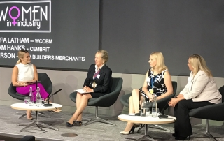 The Master joins the industry panel at NMBS Women In Industry Conference