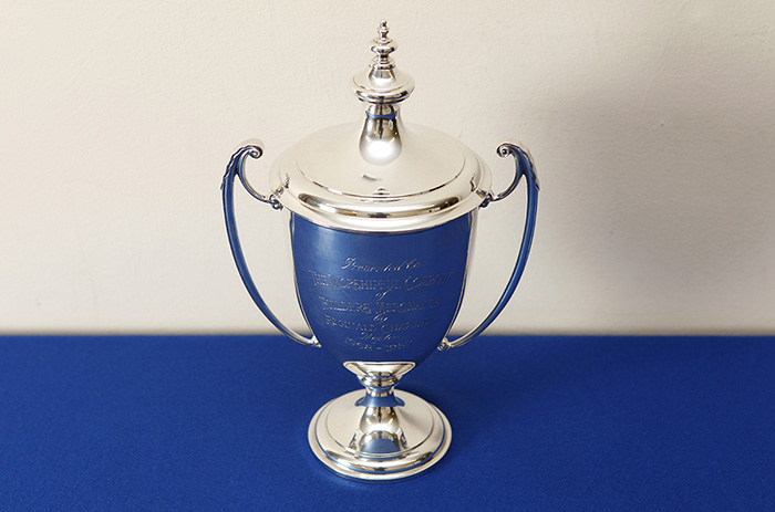 Silver Loving Cup with Lid